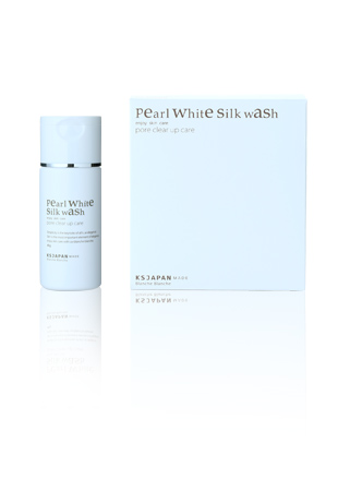 Pearl White Silk Wash